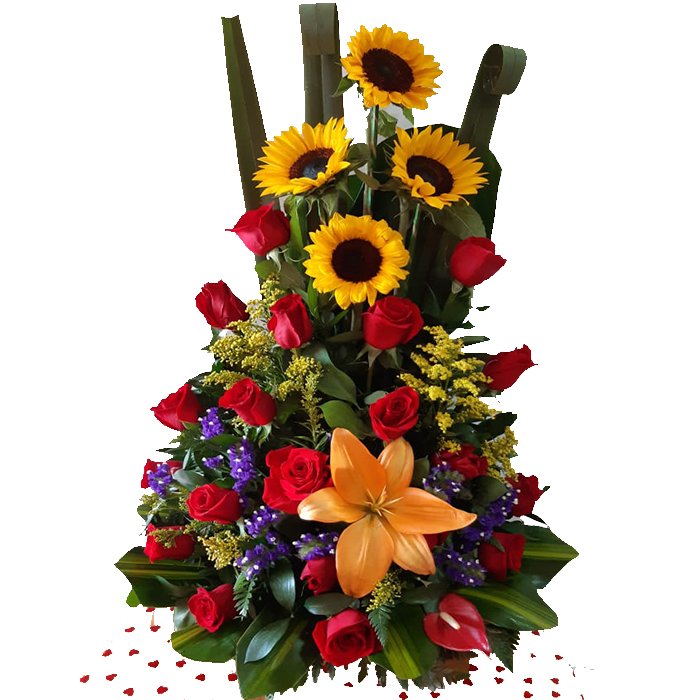 Arreglo Hermoso de flores_flores Cali es Cali