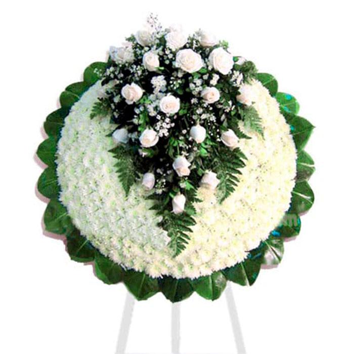 Corona-Condolencias-Rosas_Flores Cali es Cali