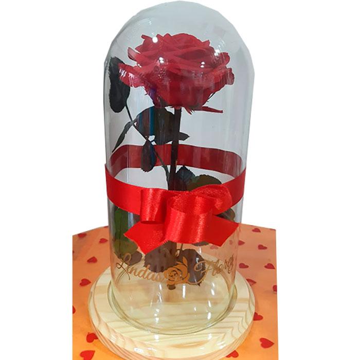 Rosa-Inmortalizada-roja_Flores Cali es Cali