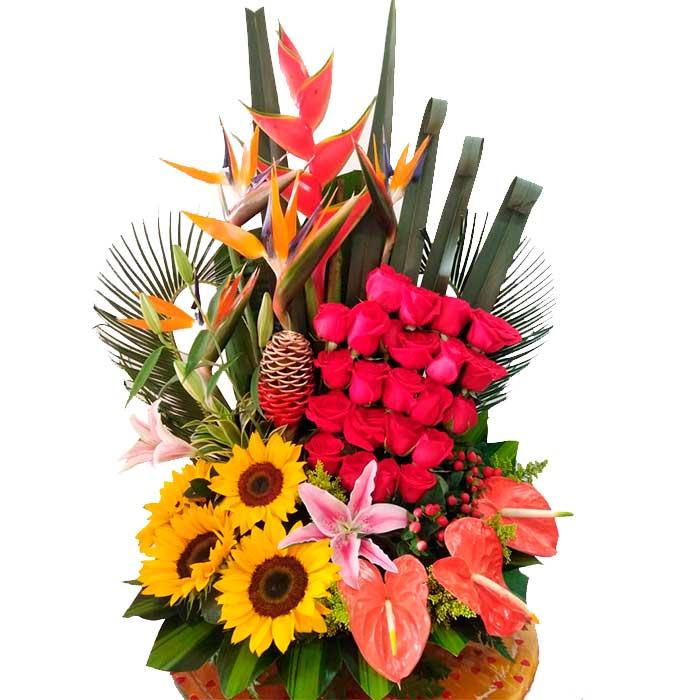 Arreglo-floral-Declaracion-de-Amor_Floristeria-flores-cali-es-cali