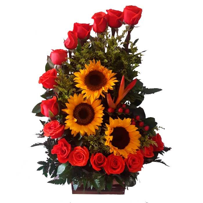 Arreglo-floral-Te-Queremos_Floristeria-flores-cali-es-cali