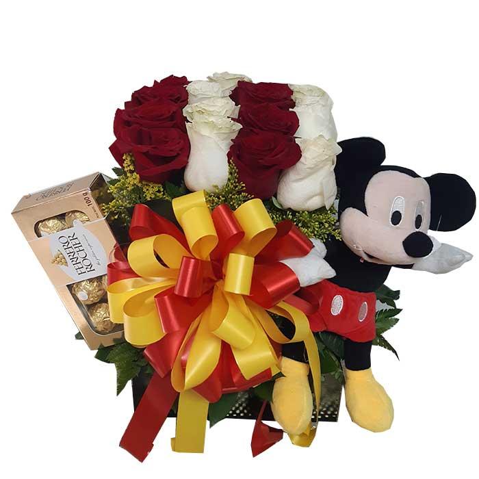 Arreglo-floral-con-mickey-mouse_flores-Cali-Es-Cali