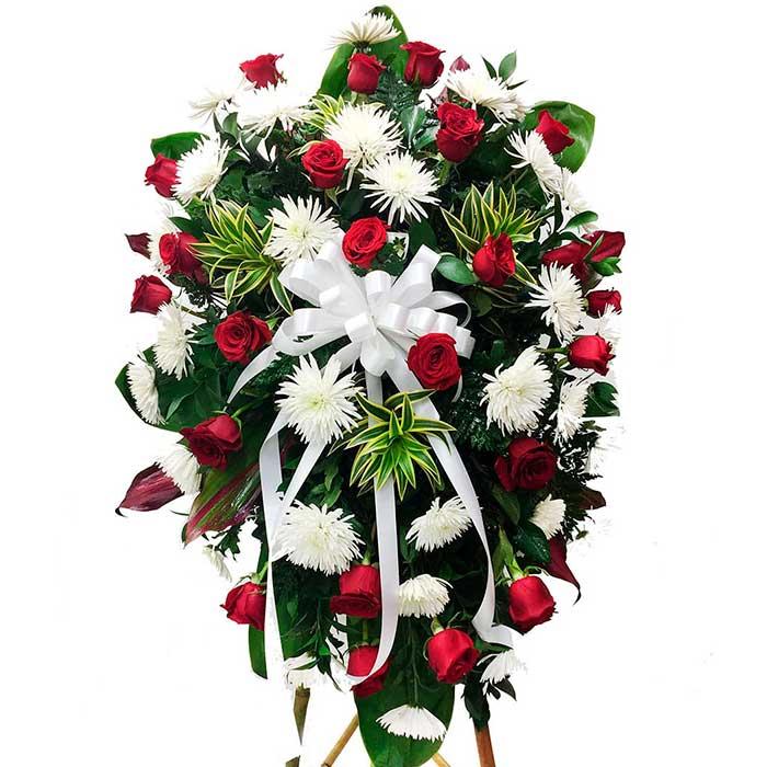 Arreglo-o-corona-Funebre-con-rosas-rojas_Flores-Cali