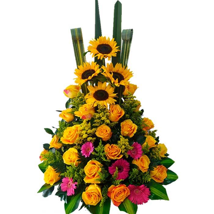Ramo-de-flores-con-Rosas-Cali-Amarillas